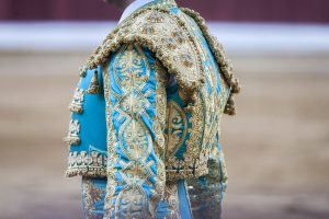 The tools of a bullfighter in bullfight