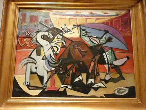 Picasso and bullfight